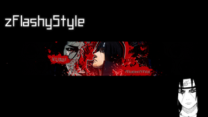Itachi Banner by zFlashyStyle