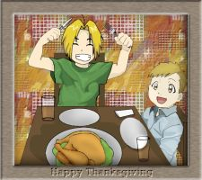 A FMA Thanksgiving by TearsOfBlood943