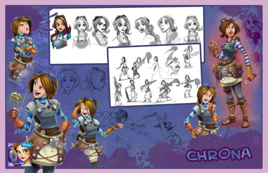 Chrona from Disney Hidden Worlds by Brett2DBean