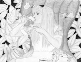 alice tea sketch by loveroffae