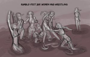 RF11 - Mud Wrestling by liliy