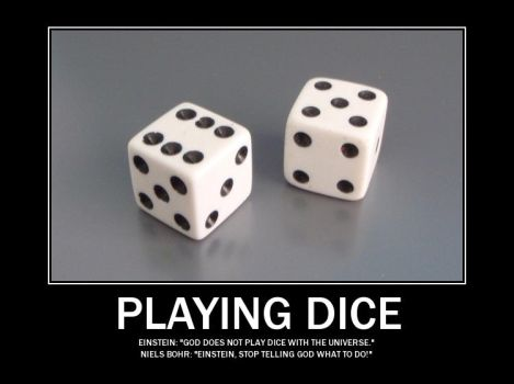 Playing Dice by Timekeeperxx
