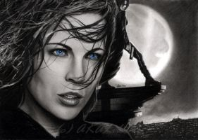 Underworld - Kate Beckinsale by akaLilith