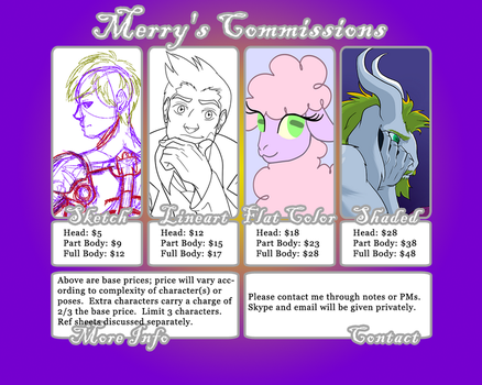 My Commission Info by TheMerryWolf