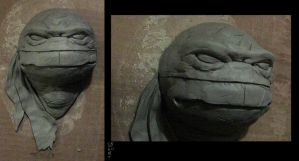 TMNT relief sculpture by Ninja-Turtles