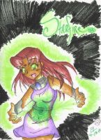 Glowing Starfire by Mandymtt