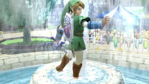Fairy in the Spring Fountain! (Smash Sunday) by AzureCrazed