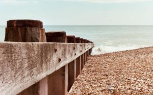 Hastings Beach Groyne by megodbike