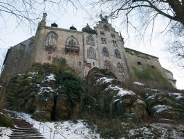 STOCK Castle Bad Bentheim by Inilein