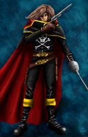 Space Pirate Cpt Herlock by leseraphin