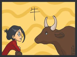 year of the ox by taneel