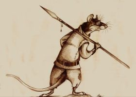 Redwall - Rat by FortunataFox