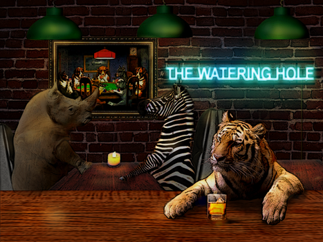 The Watering Hole by jrem090