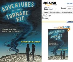 Adventures of the Tornado Kid - book cover art by rebirthvirgo