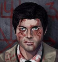 Castiel - Leviathan by Luerro