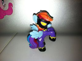 Rainbow Dash Shadowbolt Blind Bag Custom by Kwockodile
