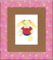 Valentine Card  -  Bunny by fmr0