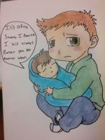Dean and Sam by Leighan14