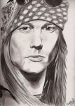William Bailey or Axl Rose by Schniffen