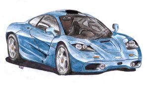 next McLaren F1 by spagi