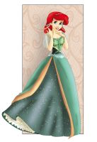 Ariel: New dress by Sonala