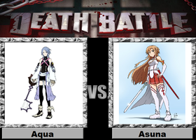 Aqua vs. Asuna by JasonPictures