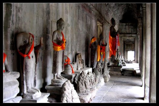 Hall of the Broken Buddhas by altarbaby