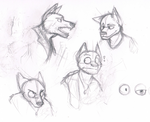 Wolf styles by Racesolar