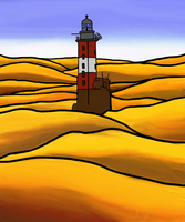 Lighthouse by Imprensibilis
