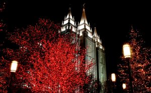 Christmas At Temple Square by Ericseye
