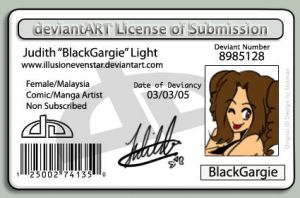 License of Submission by IllusionEvenstar