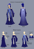 Celesta's Ceremonial Dress by Celesta1805