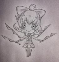 Penny chibi from RWBY by hollyvalance