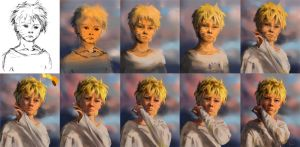 Naruto process by Olggah