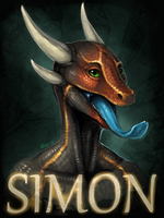 Simon Badge by rajewel