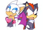 Rouge and Shadow _ by Umbra-Flower