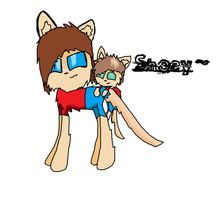 SHANExJOEY Shipping - Shoey (As cats) by SilverleafShadefur
