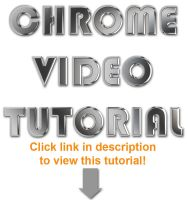 Photoshop Chrome Video Tut. by Gunsou