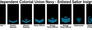 ICU Navy - Enlisted Ranks by CommieTechie