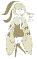Tanya The Moth by AskLemonDishwash