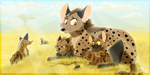 Our Golden Savannah by TheCynicalHound