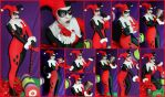 Harley Quinn Animated Series Cosplay Collage by AmmieChan