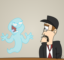 The Not so Friendly Ghost by MacWaffly