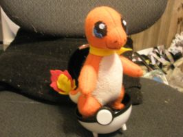 Charmander Plush by Vulpes-Canis