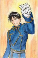 Roy Mustang by BlueRecluse