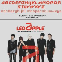Led apple logic egoism delete   font by StillPhantom