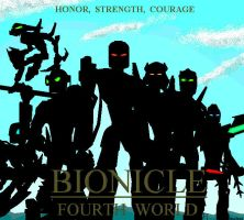 BIONICLE 4th WORLD_Toa Zena by NuvaPrime