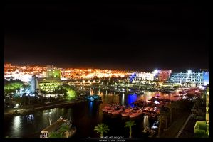 Eilat at night by bnext