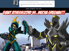 BDAT Tumblr - Atheshizord vs. Mecha Gregnas by ShadowScarKnight