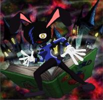 Tooned - Dark Rabbit by PlayboyVampire